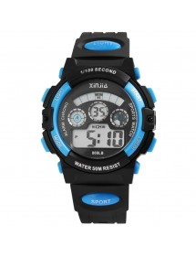 Sport digital watch XINJIA black and blue 2410006-002 XINJIA 20,50 €