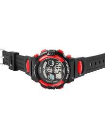 Sport digital watch XINJIA black and red 2410006-004 XINJIA 18,50€