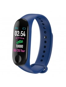 Traqueur de fitness B09 TimeTech USB Bluetooth - Bleu 2440002-003 TimeTech 29,90€