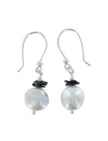 Boucles d'oreilles en argent et pierres naturelles 3130910 îlOcéane 18,00€