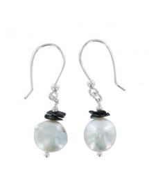 Silver and natural stone earrings 3130910 îlOcéane 19,90 €