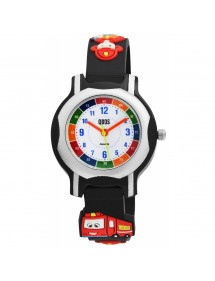 Fireman QBOS watch black silicone strap 4500023-001 QBOSS 19,90 €