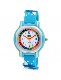 QBOS dolphin watch, blue lagoon silicone strap 4500024-002 QBOSS 19,90€