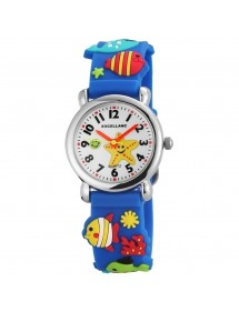 Excellanc fish watch blue silicone strap 4200005-002 Excellanc 19,90 €